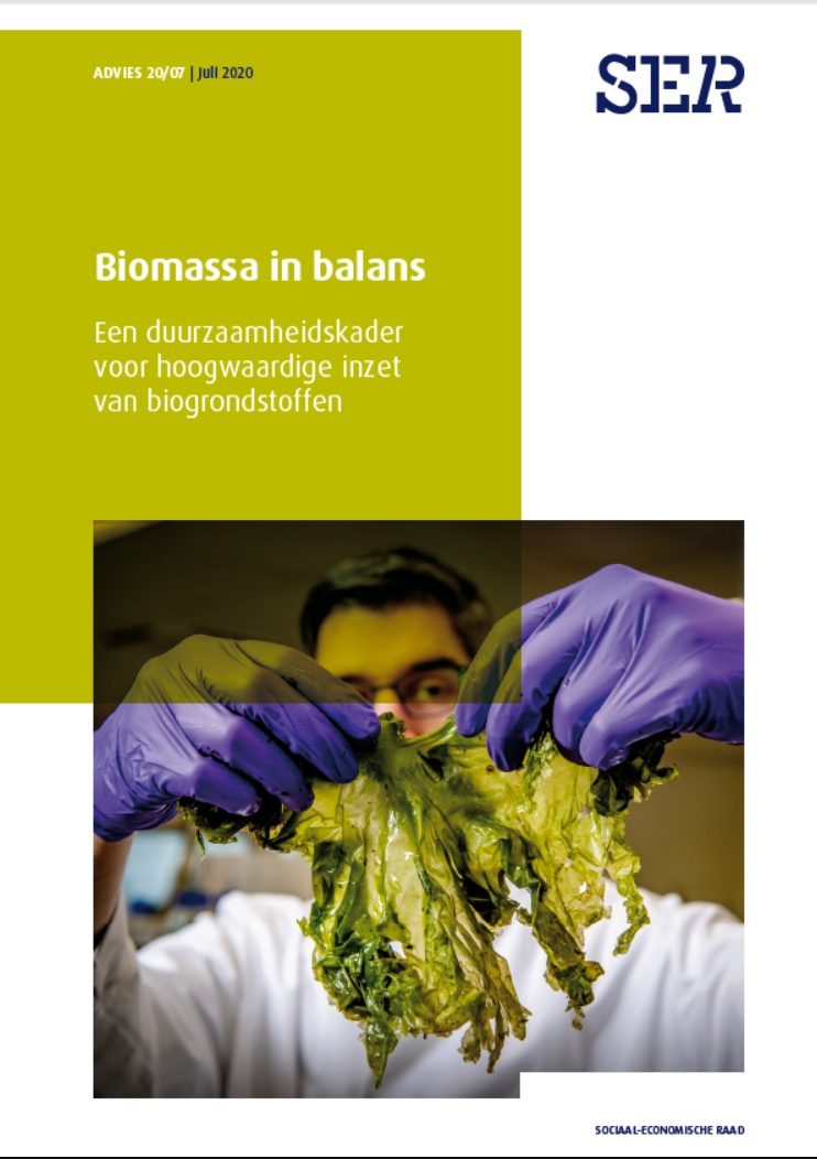 Cover SER advies Biomassa in balans